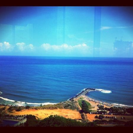 Residencias Miramar Suites: vista desde el restaurante