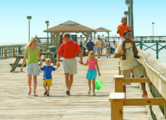 Springmaid Pier Family Fun At The