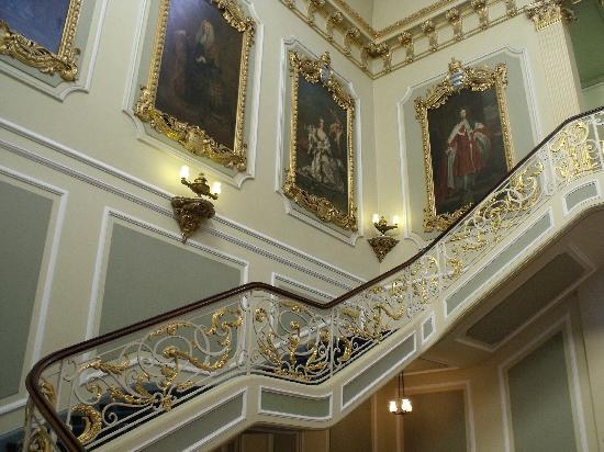 Staircase inside house wrest park house garden picture for Staircase pictures for inside house
