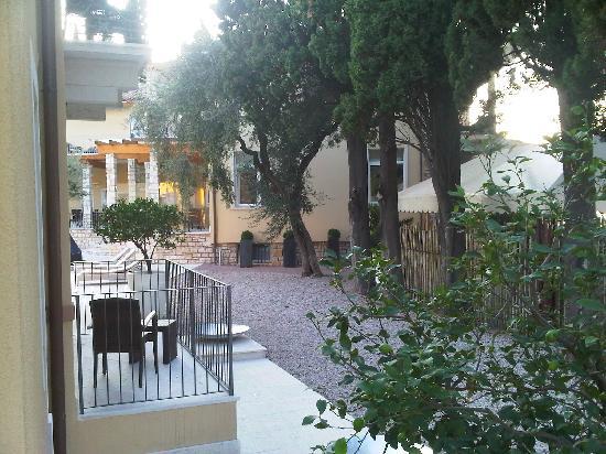Hotel Baia dei Pini: Blick vom Balkon1