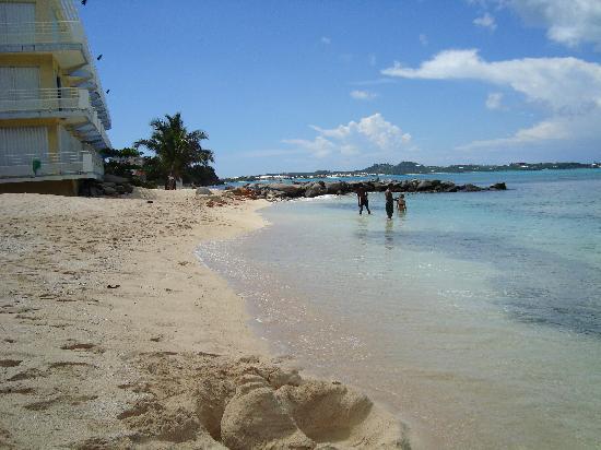 Residence Anse des Sables: la plage