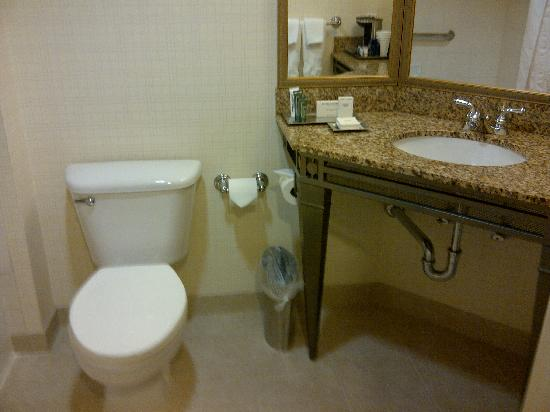 Hilton Santa Clara: Washroom view 1