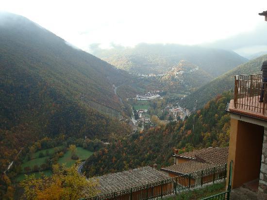 Hotel Panorama: vista sulla valle