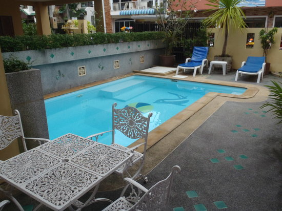 Absolute Guesthouse : The pool area