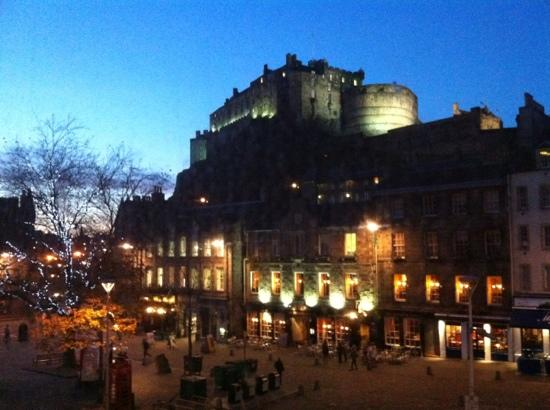 Apex City of Edinburgh Hotel: view from room 1023