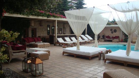 The Margi: Pool area