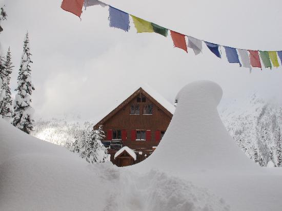 Selkirk Mountain Experience Lodge: Durrand Glacier: November 1, 2011