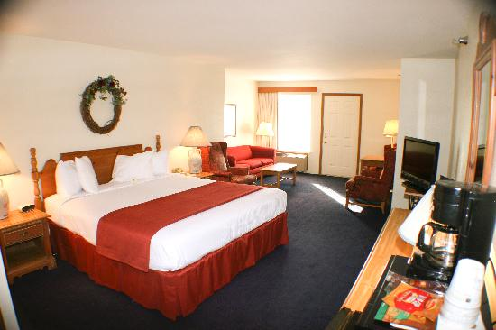BEST WESTERN Designer Inn & Suites: Single king room