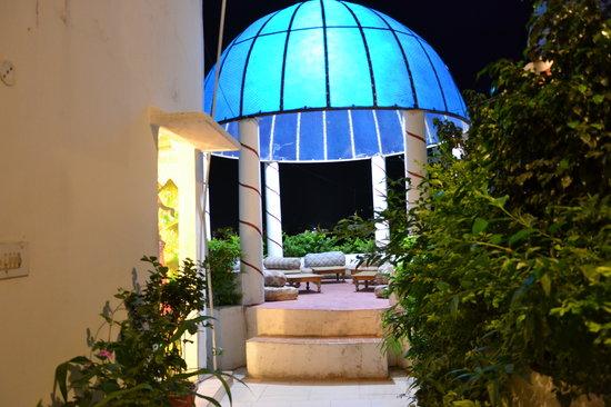 Hotel Kishan Palace : roof terrace
