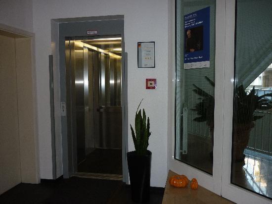 Hogh Hotel Heilbronn: The Lift Foyer