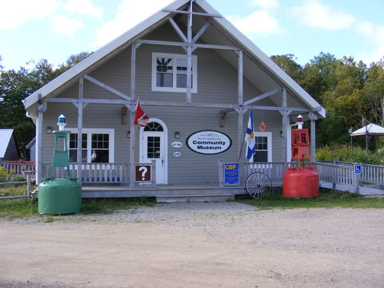 Cape North, Canadá: Museum Entrance