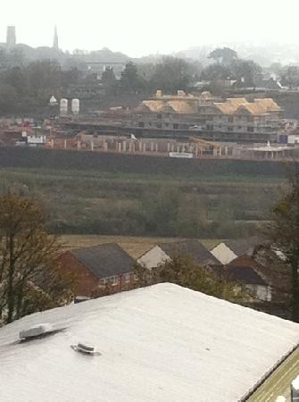 Parkdean Resorts - Torquay Holiday Park: construction site as a view!