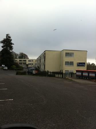 Parkdean Resorts - Torquay Holiday Park: in-betweeners block of flats lol!