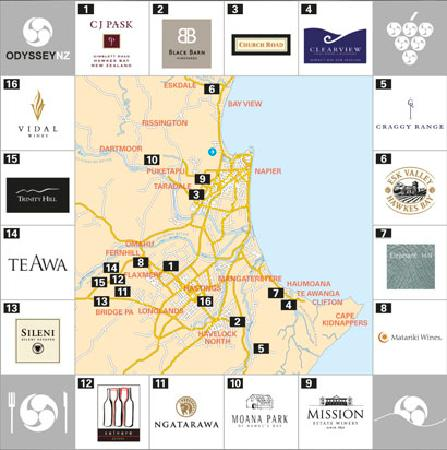 Odyssey New Zealand: Plenty of wineries to choose from.