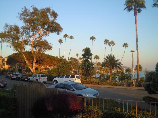 Laguna Shores: snapshot through a window of our unit