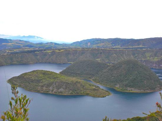 Cotacachi, Ecuador: Twin islands in the volcanic crater lake