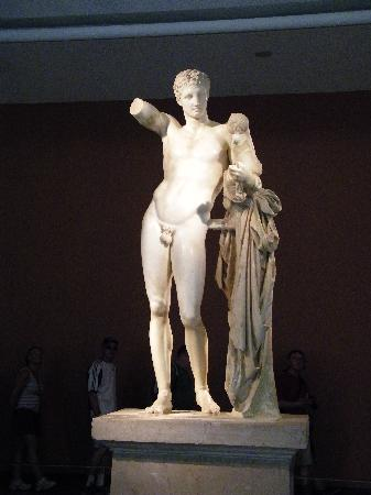 Ancient Olympia: Hermes of Praxitelis