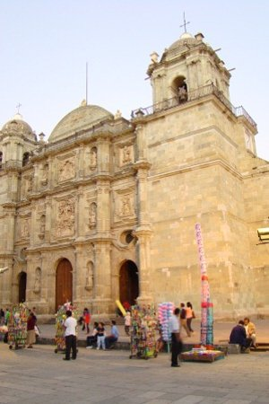 Cathedral of Oaxaca: Fassade der Kathedrale