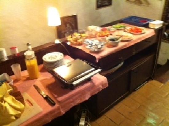 Hotel Villette: Frühstücksbuffet
