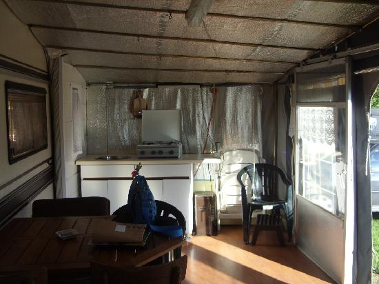 Inside Awful Awning Picture Of Camping Ypra Kemmel