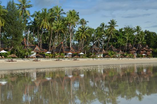 Amazing Ngapali Resort: from the beach
