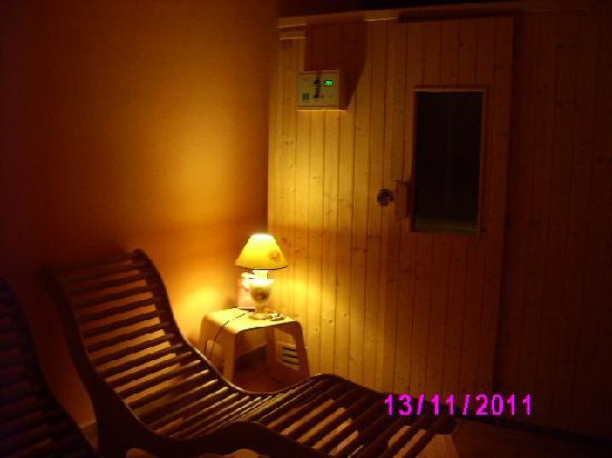 Hotel Dei Boschi: la sauna