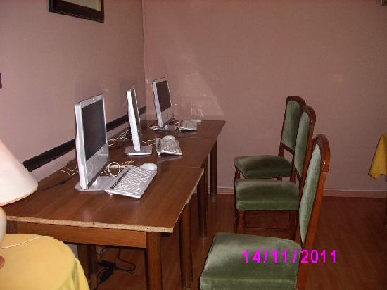Hotel Dei Boschi: la sala internet free