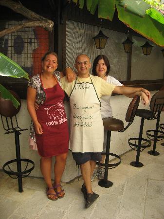 Anastasia Hotel: Evelina, Stefanìa & Michaelis