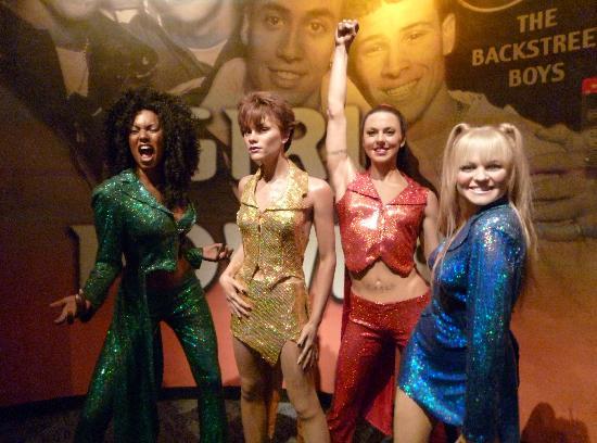 Madame Tussauds New York: Spice Girls