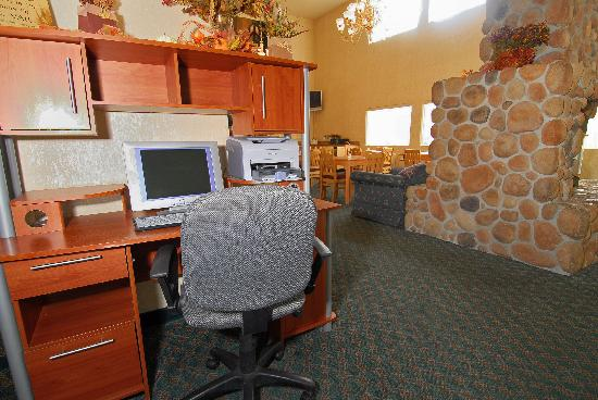 Comfort Inn Downtown Wenatchee: Business Center