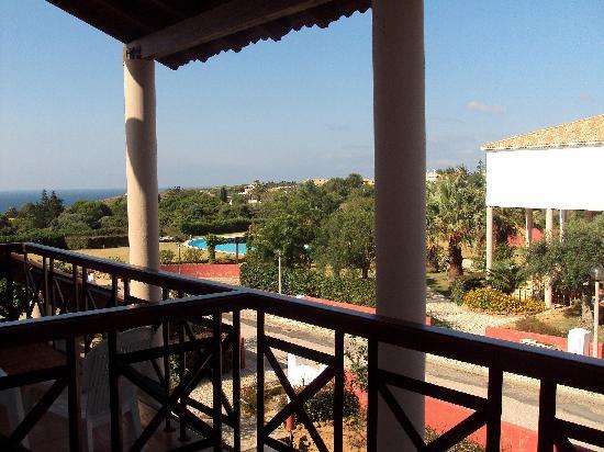 Luzmar Villas: Vista desde la terraza de la habitación.