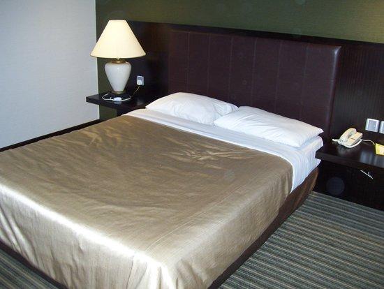 Ambassador Transit Hotel Terminal 2: hard bed