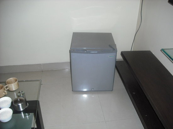 Reeva Suites : Highlight of the room - a small fridge!