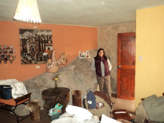 Cabanaconde, Perù: Entrada a abitacion