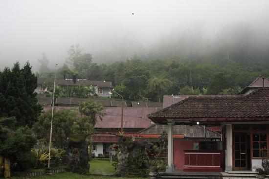 Ashram Home Stay-Hotel: View from carpark