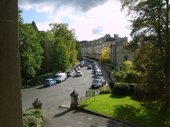 The Roseate Villa Bath: View from window up Henrietta Street