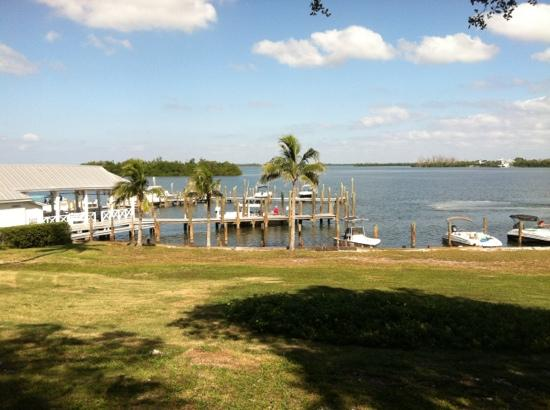 Cabbage Key Inn Restaurant: view from outside table