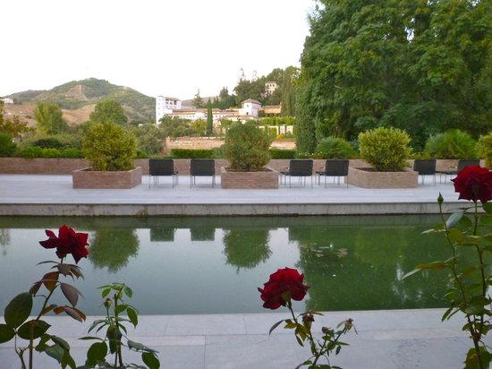 Parador de Granada: View from room 102