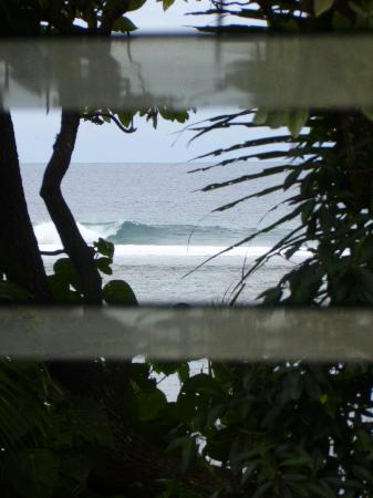 Ha'atafu Beach Resort: View from our bed