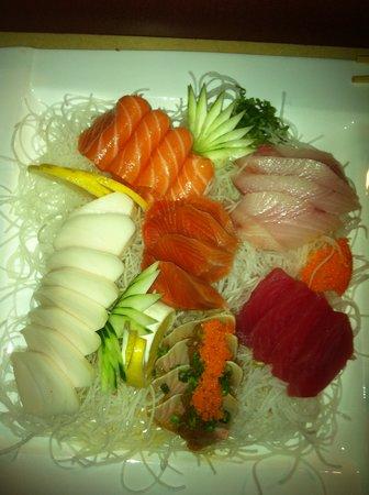 Got Sushi: sashimi platter