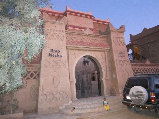 Entrance to Riad Nezha