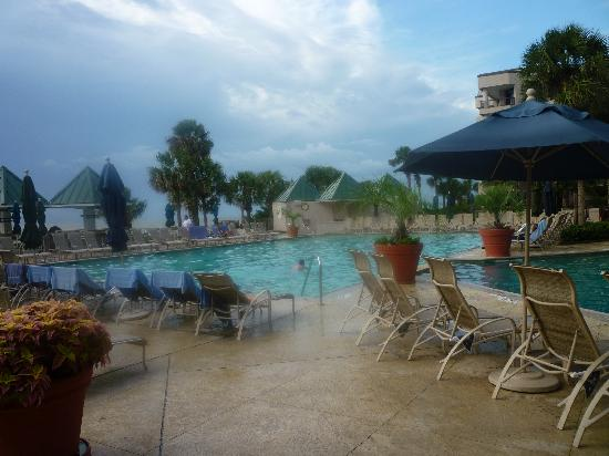 Outdoor Lap Pool Picture Of Hilton Head Marriott Resort Spa Tripadvisor