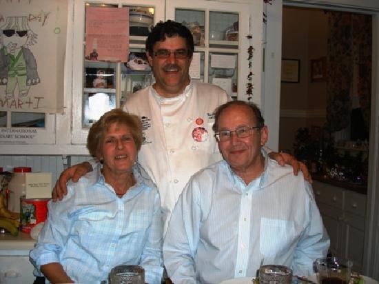 The Inn of the Patriots B & B: chef Marti