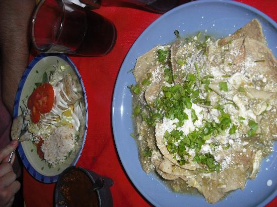 Sabores: chilaquiles