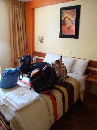 Hostal Inti Quilla: The room