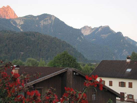 Hotel-Gasthof zum Schwanen: Part of our beautiful view