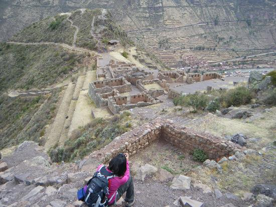 Pisaq, Peru: enjoying the ruins