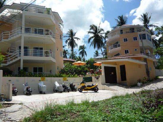 Chaweng Noi Residence: arrivée à la résidence