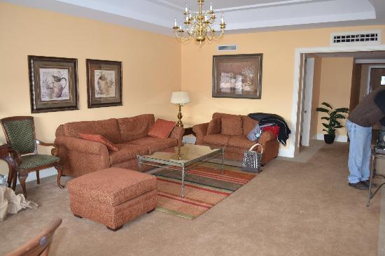 Haywood Park Hotel: Sitting Room