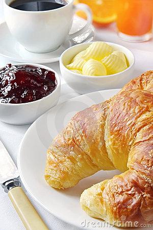 Mount Edgcombe: Continental Breakfast choices available